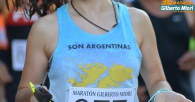 La Agrupación Atlética Islas Malvinas presente en la Gilberto Miori