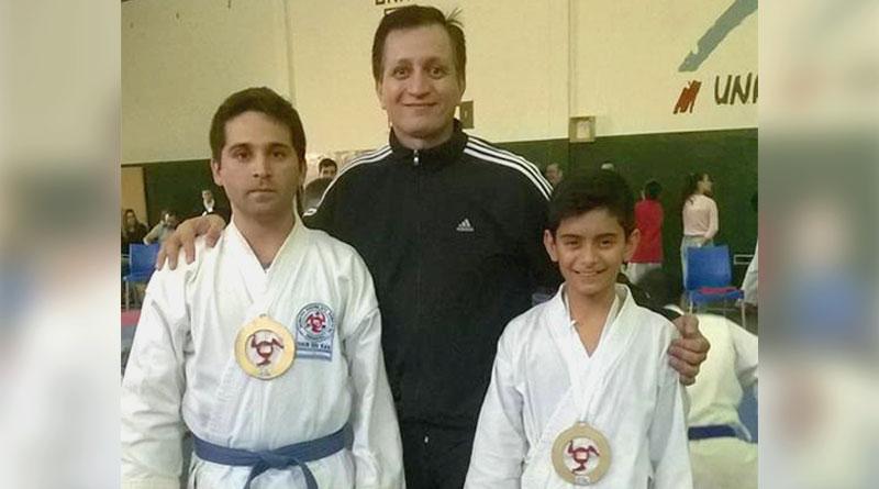 Dolorenses medalla de oro en el 1 torneo Regional de la  Escuela de Karate Do Shin Shu Kan