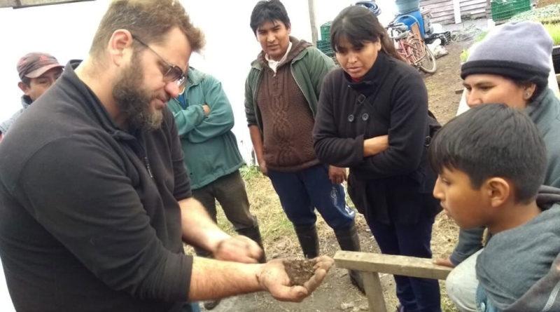 Javier Scheibengraf brindará taller de agricultura orgánica en Villa de Las Rosas