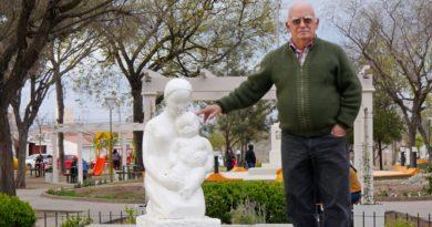 El monumento a la madre de Plaza Blanca