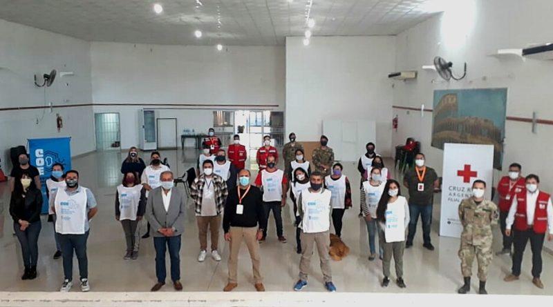 El COE Villa Dolores capacitó a nuevos Voluntarios